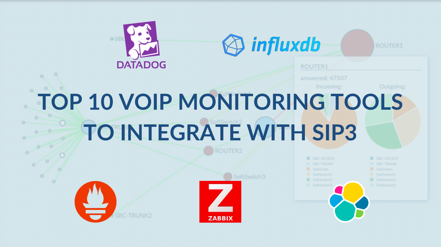 Top 10 VoIP Monitoring Tools to Integrate with SIP3